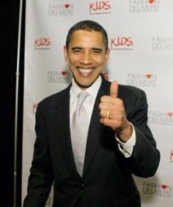 Obamathumbsup