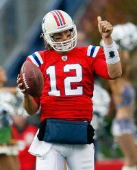 Pat's QB Tom Brady