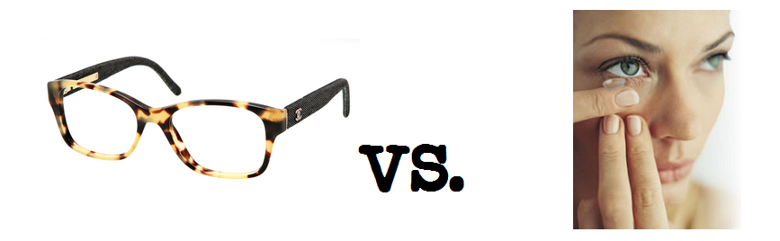 Contacts versus Glasses, or both?