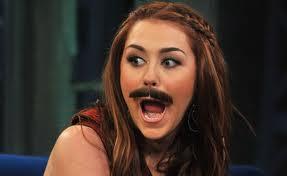 MileyMustache