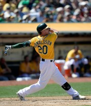 Josh Donaldson is a number of All-Star snubs in 2013.