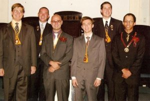 My Chevalier Investiture on Sep. 15,2007, one of the greatest days of my life.
