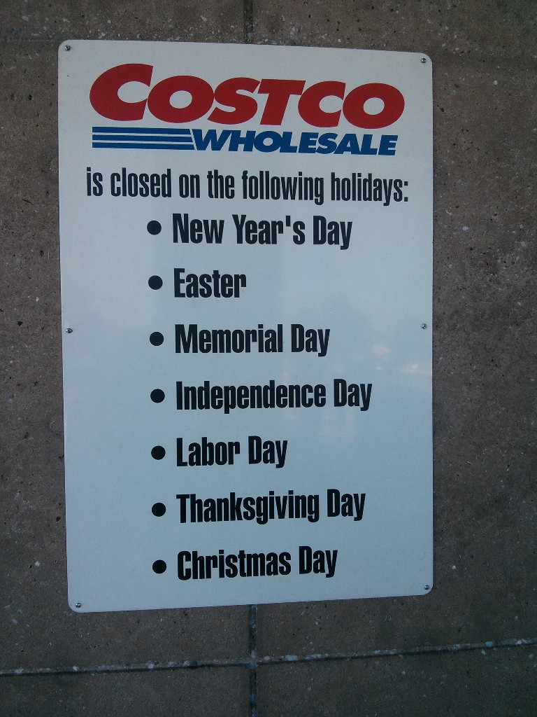 costco will be among many retailers refusing to open on thanksgiving day - Is Costco Open On Christmas Day