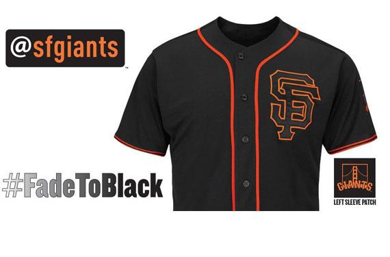 huge selection of 195e3 d2284 san francisco giants black alternate jersey