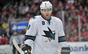 It has not been good for Joe Pavelski and the Sharks as of late,but it could be worse,kids!