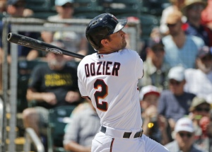 Brian Dozier and the Twins have had a surprise season