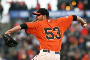 MLB: Los Angeles Angels at San Francisco Giants