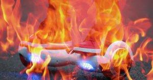 hoverboardonfire
