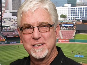 Image #: 14374304    San Francisco Giants broadcasters  Duane Kuiper (L) and Mike Krukow pose for a photograph before a game against the St. Louis Cardinals at Busch Stadium in St. Louis on June 2, 2011.   UPI/Bill Greenblatt /LANDOV
