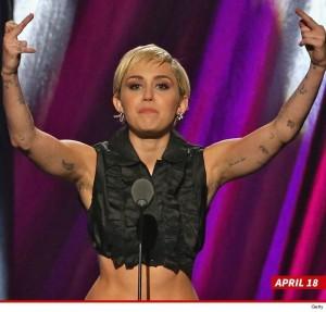 MileyCyrusArmpitHair