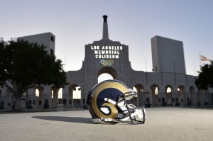 The Rams will play L.A.'s first NFL game since 1994 this season.