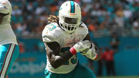 Jay Ajayi and the Dolphins are playoff bound for the first time since 2008.