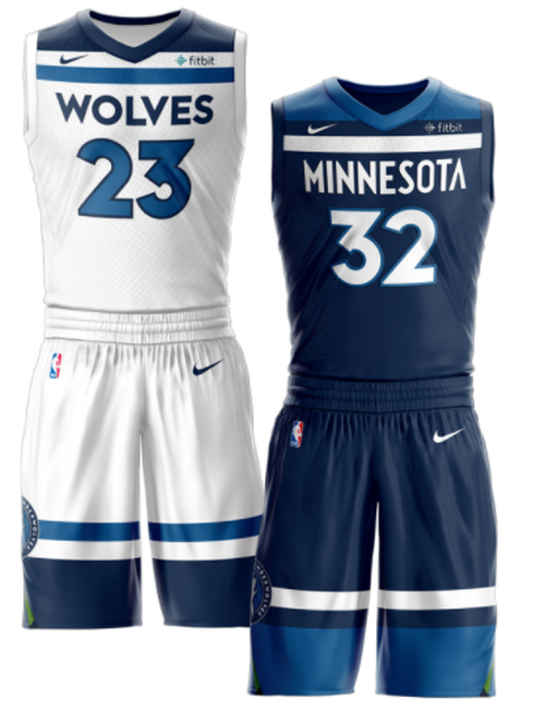 brand new a819e b0505 Reviewing the New Minnesota Timberwolves uniforms ...