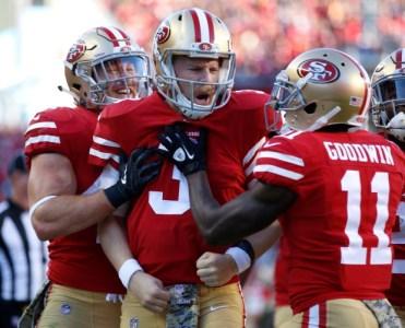 49ers versus Giants
