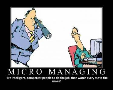 micromanaging