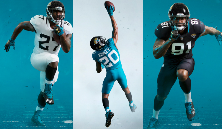 cheap for discount 93739 19c1d Reviewing the New Jacksonville Jaguars' Uniforms (2018 ...