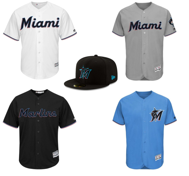 huge selection of 1bcf3 6c7dd Reviewing the new Miami Marlins logo and uniforms (2018 ...