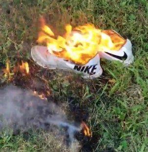 NikesBurning