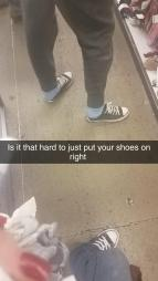 ShoesNotOnAllTheWay