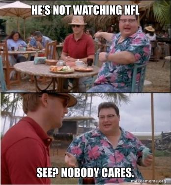 NotWatching NFL