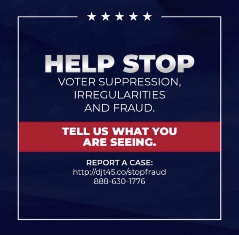 VoterFraudHotline